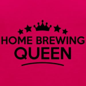 home brewing queen stars - Frauen Premium Tank Top
