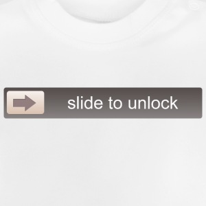 SLIDE TO UNLOCK  Tee shirts - T-shirt Bébé
