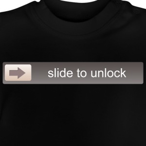SLIDE TO UNLOCK -  ENTSPERRFUNKTION T-shirts - Baby T-shirt