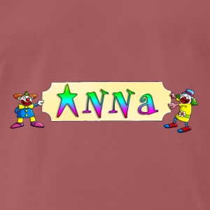 clowns_and_names_062015_anna_b Accessoires - Männer Premium T-Shirt