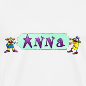 clowns_and_names_062015_anna_c Langarmshirts - Männer Premium T-Shirt