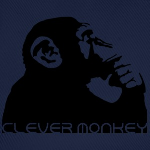 clever monkey Shirts - Baseball Cap