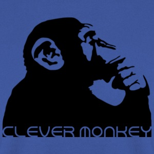 clever monkey Shirts - Men's Sweatshirt