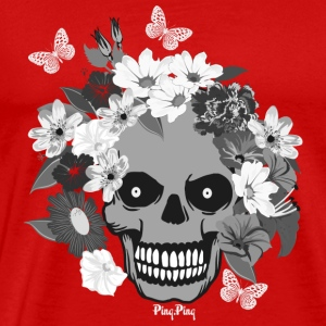 Scull - Totenkopf Long Sleeve Shirts - Men's Premium T-Shirt