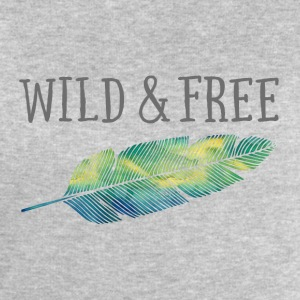 Wild & free pillow - Men's Sweatshirt by Stanley & Stella