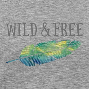 Wild & free pillow - Men's Premium T-Shirt