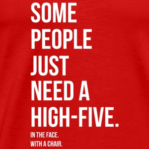 HIGH 5 IN YOUR FACE - HIGH 5 IN YOUR FACE Toppar - Premium-T-shirt herr