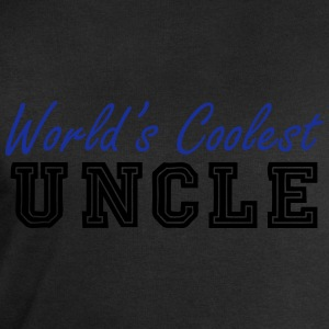 world's coolest uncle T-Shirts - Men's Sweatshirt by Stanley & Stella