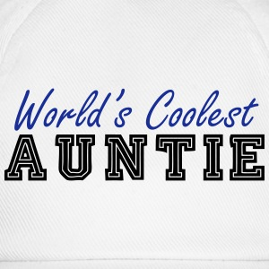 world's coolest auntie T-Shirts - Baseball Cap
