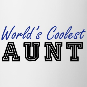 world's coolest aunt T-Shirts - Mug
