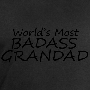 world's most badass grandad T-Shirts - Men's Sweatshirt by Stanley & Stella