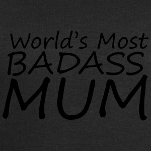 world's most badass mum T-Shirts - Men's Sweatshirt by Stanley & Stella