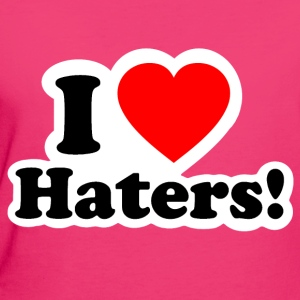 I LOVE HATERS - I LOVE ENVY Bags & Backpacks - Women's Organic T-shirt
