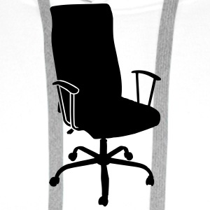 Office Chair T-Shirts - Men's Premium Hoodie