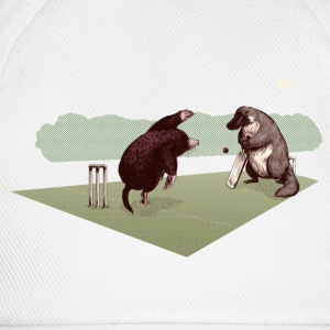 Wit Mole and Platypus cricket Shirts - Baseballcap