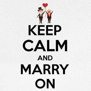 keep calm and marry on T-Shirts - Baseball Cap