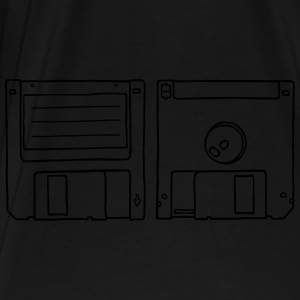 Floppy Disk Bags & Backpacks - Men's Premium T-Shirt
