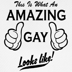 this is what an amazing gay looks like T-Shirts - Baseball Cap