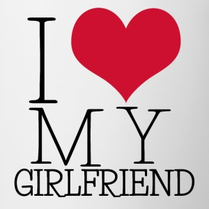 i love my girl T-shirts - Mok