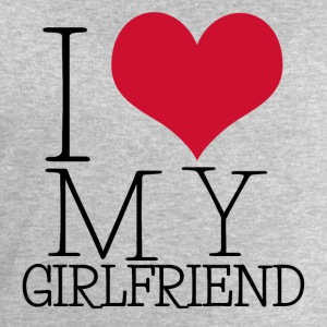 i love my girl Long sleeve shirts - Men's Sweatshirt by Stanley & Stella
