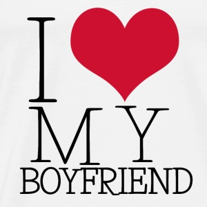 i love my boy Tops - Camiseta premium hombre