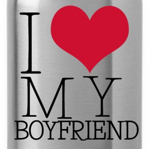 i love my boy Tops - Drinkfles
