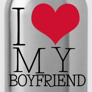 i love my boy Shirts met lange mouwen - Drinkfles