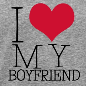 i love my boy Sweat-shirts - T-shirt Premium Homme