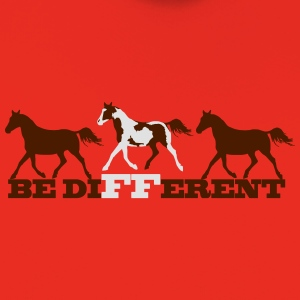 Paint Horse - Be different T-Shirts - Kids' Premium Hoodie