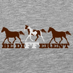 Paint Horse - Be different Långärmade T-shirts - Premium-T-shirt herr