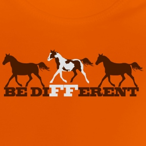 Paint Horse - Be different Skjorter - Baby-T-skjorte