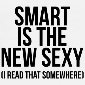 Smart is the new sexy Mokken & toebehoor - Mannen Premium T-shirt