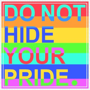 Do Not Hide Your Pride Sonstige - Baseballkappe