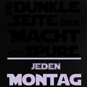 Montag - die dunkle Macht Langarmshirts - Baby T-Shirt