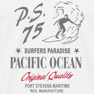 Surfers Paradise Long Sleeve Shirts - Men's Premium T-Shirt