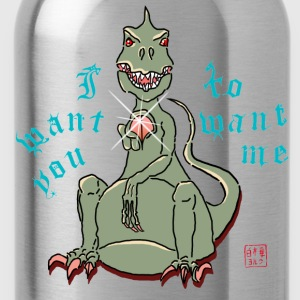 T-Rex Wants You - Trinkflasche