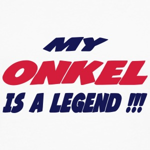 My onkel is a legend 222 T-shirts - Herre premium T-shirt med lange ærmer