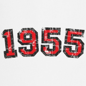 Year 1955 Birthday Vintage Red (EU) T-Shirts - Cooking Apron