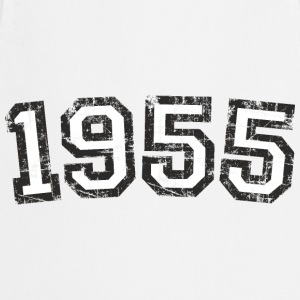 Year 1955 Birthday Vintage White (EU) T-Shirts - Cooking Apron