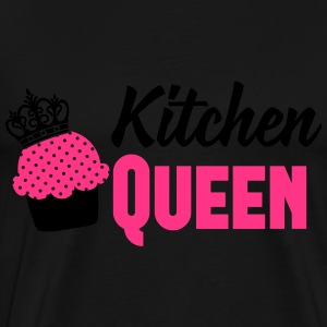 Kitchen Queen Langærmede T-shirts - Herre premium T-shirt