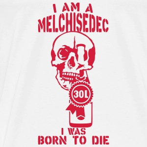 Melchisedech 30 liters bottle born die Tops - Men's Premium T-Shirt