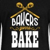Bakers gonna bake Hoodies & Sweatshirts - Women's Boat Neck Long Sleeve Top