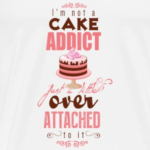 I'm over attatched to cake Tops - Men's Premium T-Shirt
