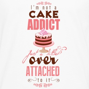 I'm over attatched to cake Tops - Männer Premium Langarmshirt