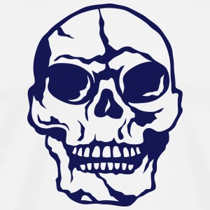 Death head skull 2506 Hoodies & Sweatshirts - Men's Premium T-Shirt