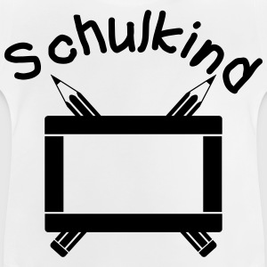 Schulkind - Dein Name, dein Text T-Shirts - Baby T-Shirt