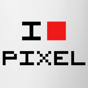 I LOVE PIXEL T-shirts - Mok