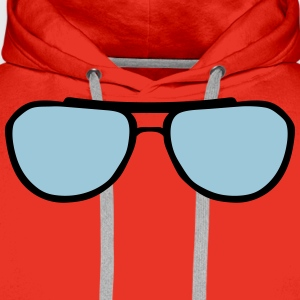 Sunglasses shape 24065 T-Shirts - Men's Premium Hoodie