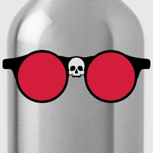 Sunglasses skull dead head shape 24064 T-Shirts - Water Bottle