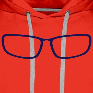 Sunglasses shape 2406 Shirts - Men's Premium Hoodie